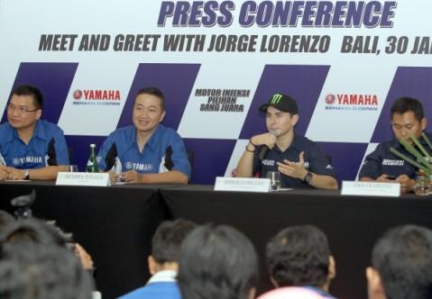 Jorge Lorenzo bertatap muka dengan awak media Bali (3)