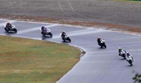 Para pembalap Yamaha Riding Academy (YRA) Indonesia di sirkuit Sugo Jepang-