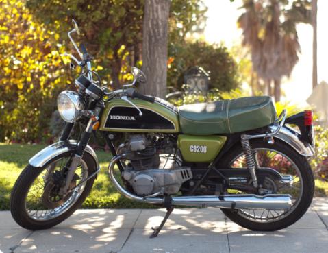CB200 Twin 1977