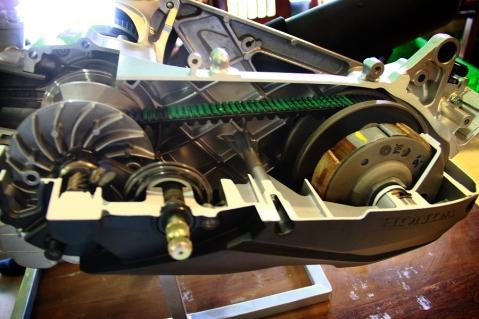 Driver Belt dengan disain baru 2 Cog Side pada Honda Vario 150