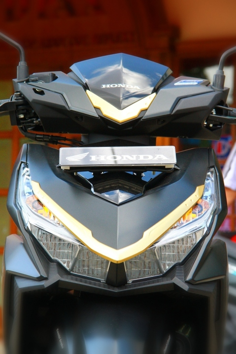 New LED Headlamp pada All New Honda Vario 150 dan 125