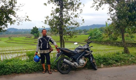 Sepeda Motor dan GPS jalan-jalan semakin seru.