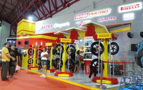 Both PT. Astra Otoparts, Tbk di Jakarta Fair 2015