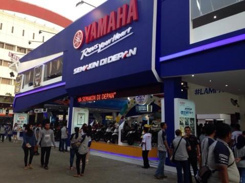 Both Yamaha di Jakarta Fair 2015