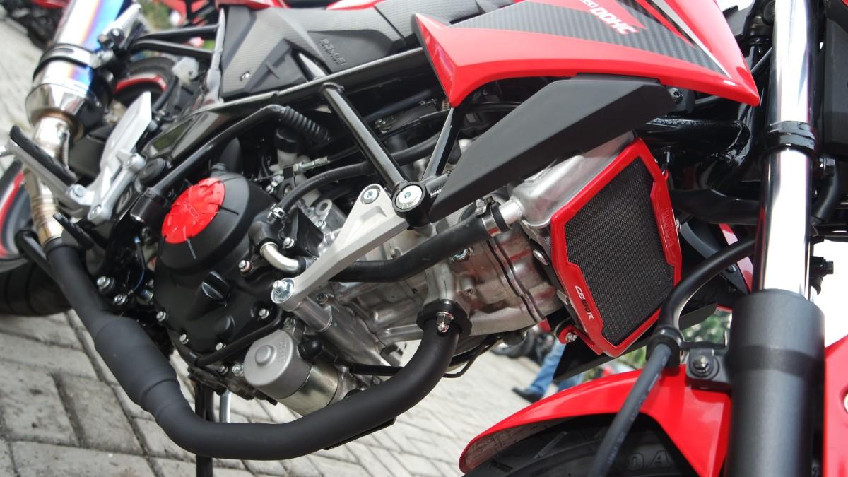 Foto Modifikasi Motor Honda All New Cb 150r Beat Streetfire Wild Black Depok Test Ride Cb150r Nyamannya Bisa Bikin Ketagihan