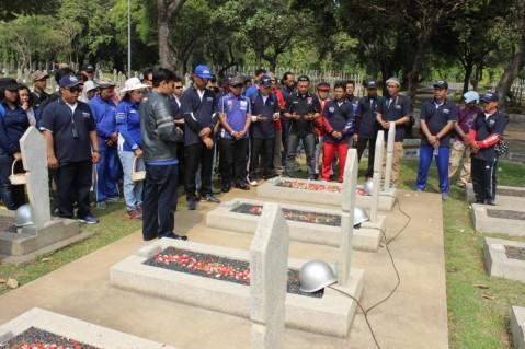 Baksos Yamaha Sambut Hari Pahlawan di Taman Makam Pahlawan Nasional Kalibata (1)