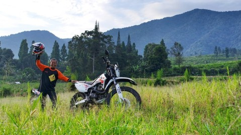 Viar CrossX 200, Advanture ride to Bogor