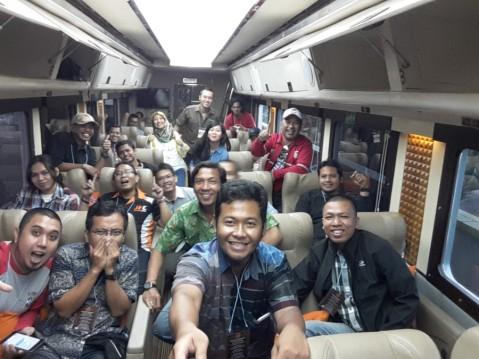 Diskusi santai menyambut kehadiran All New Honda Supra GTR150 di Argo Parahyangan