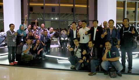 Peluncuran Honda CBR250RR oleh PT. AHM bersama teman-teman Blogger