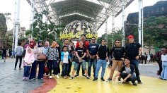 Family Gathering Blogger dan Vlogger 2017