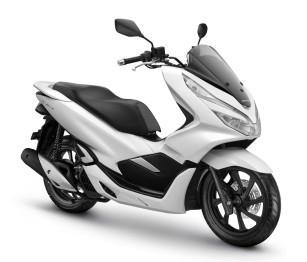 All New Honda PCX - Wonderful White