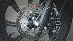 New Honda PCX 150 Braking System