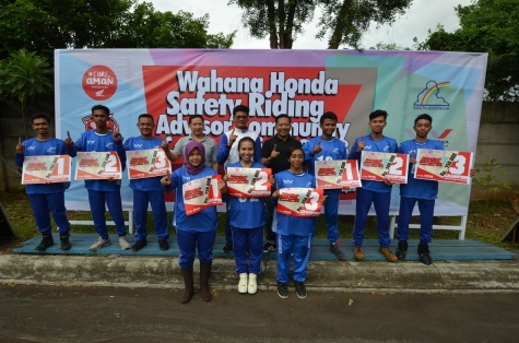 Wahana Honda Safety Riding Advisor Community Competition 2018 (6)